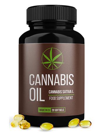 cannabis oil cápsula